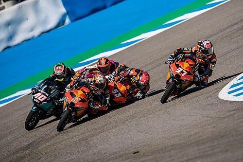 Oncu Beruntung Masih Hidup Usai Crash Moto3 Spanyol
