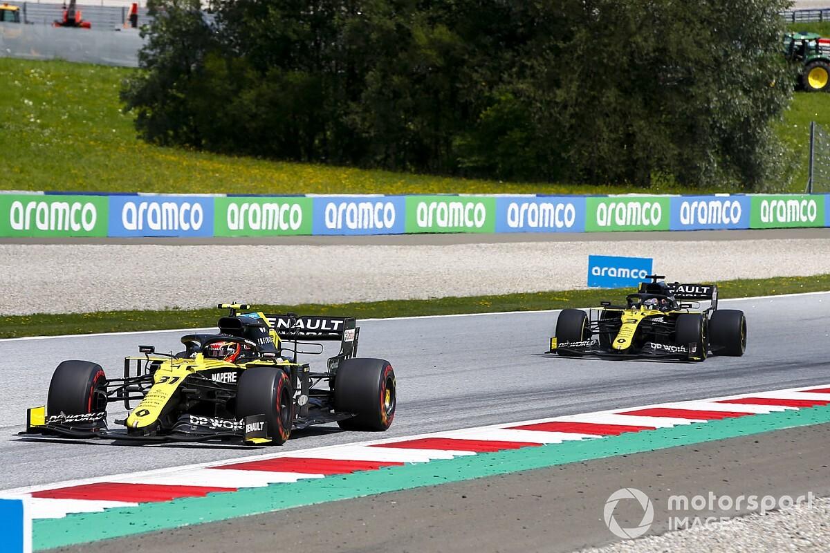 Ismét a hűtés adhatta meg magát a Renaultban, legalábbis Ocon így tudja
