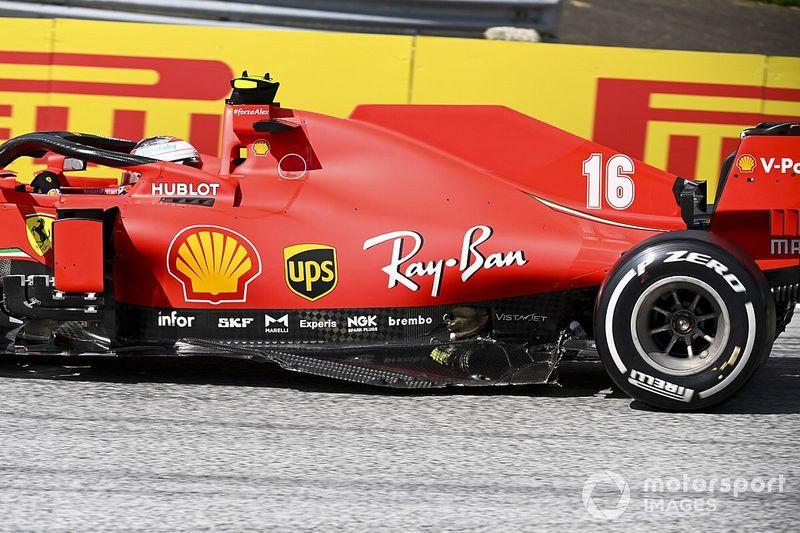"""Leclerc admite culpa por batida com Vettel no GP da Estíria: """"desculpas não são suficientes"""""""
