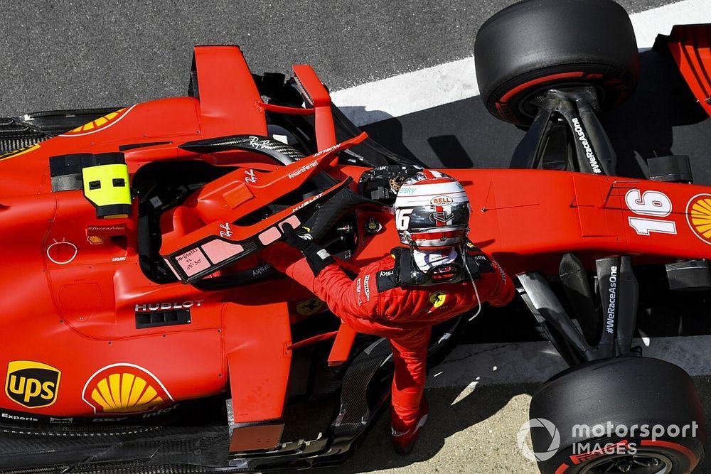 Leclerc y Vettel realizan un 'filming day' en Silverstone