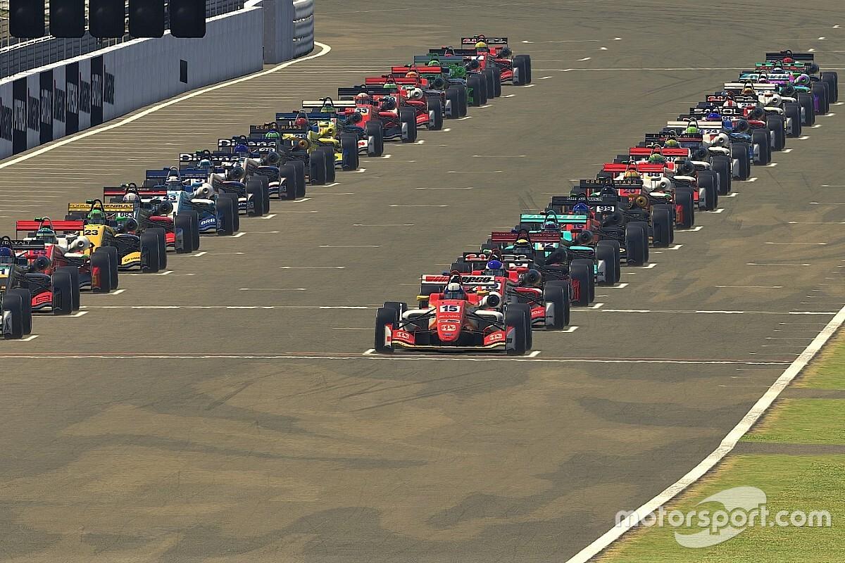Veja como foi o Desafio Virtual das Estrelas que homenageia Interlagos e tem presenças de Massa e Barrichello