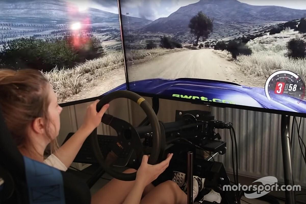 Úgy ralizik a rali-versenyzőnő a Dirt Rally 2-ben, hogy nem hiszed el: videó