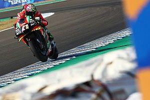 Aleix Espargaró déçu: il est tombé en tentant de suivre les Ducati