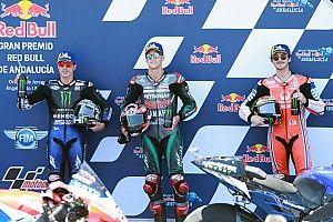 Parrilla de salida del GP de Andalucía MotoGP