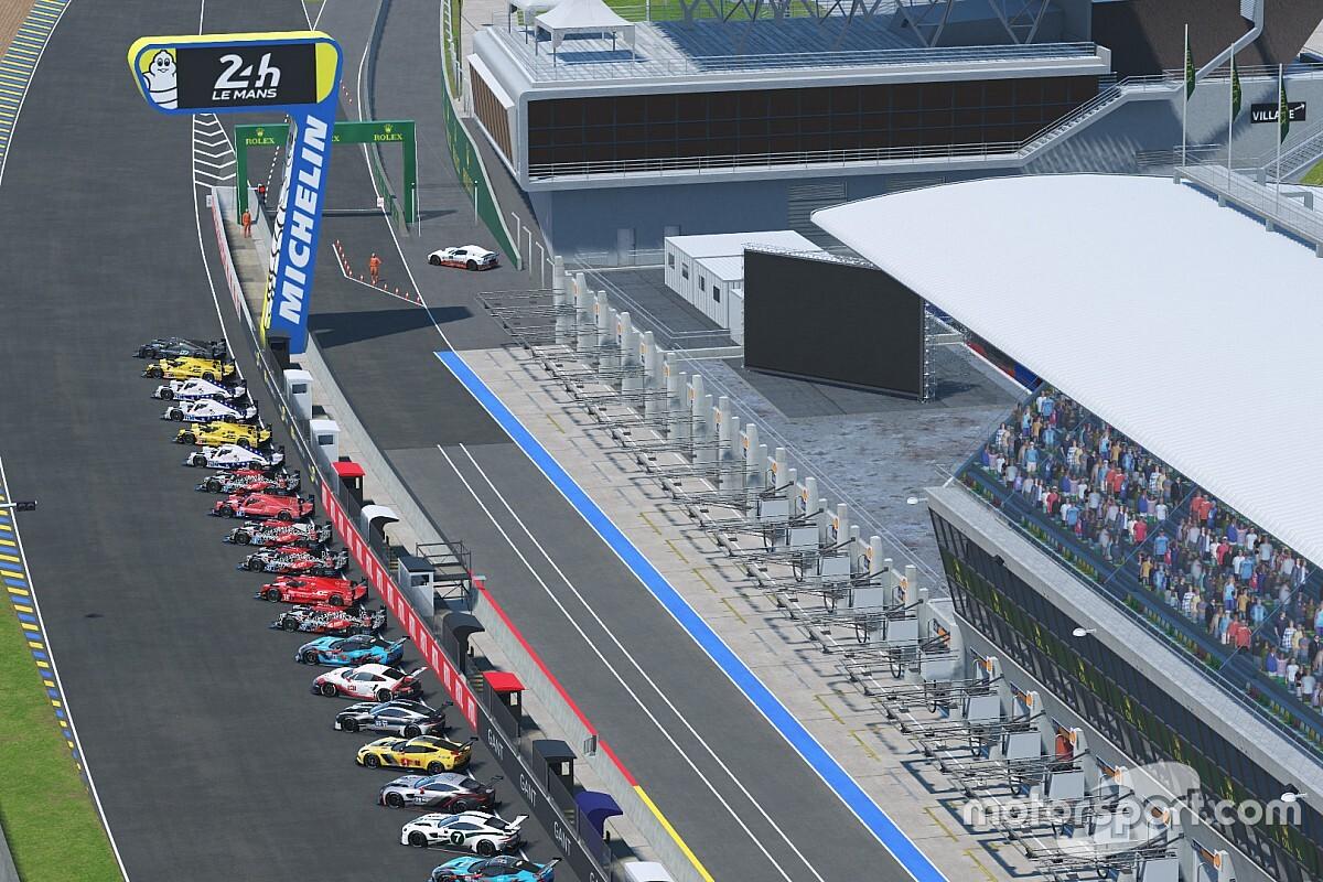 Veja como foi a etapa da Tríplice Coroa Virtual em Le Mans