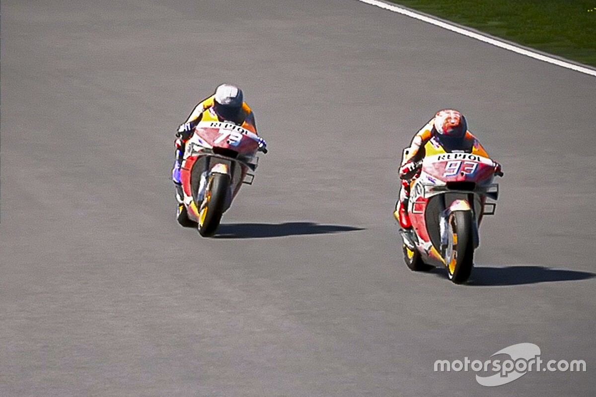 Marquez leads line-up for Virtual GP at Jerez