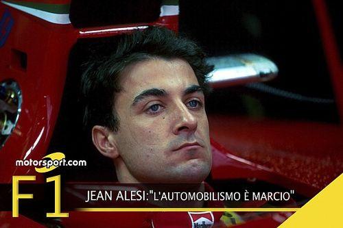 """Video, Jean Alesi: """"Il motorsport è marcio"""""""