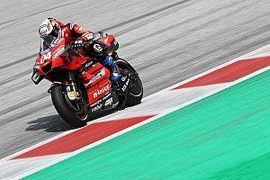 MotoGP: Dovizioso vence na Áustria em prova marcada por forte acidente
