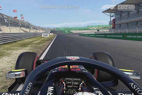 Посмотрите, как выглядит круг по Зандфорту в игре F1 2020