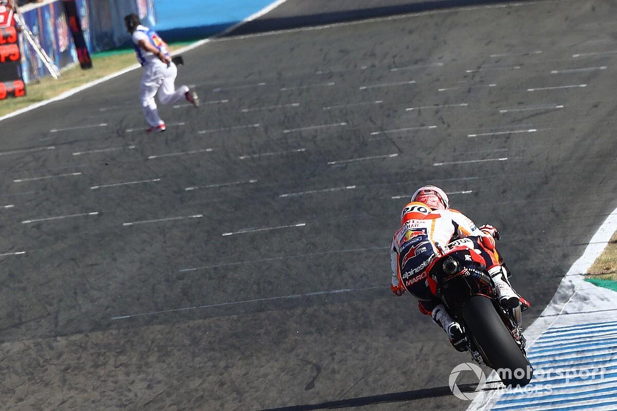 Сезон MotoGP стартовал. Посмотрите на фото, сделанные в субботу
