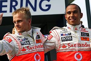 Kovalainen jól kezdett, de a végén szétesett Hamilton mellett a McLarennél