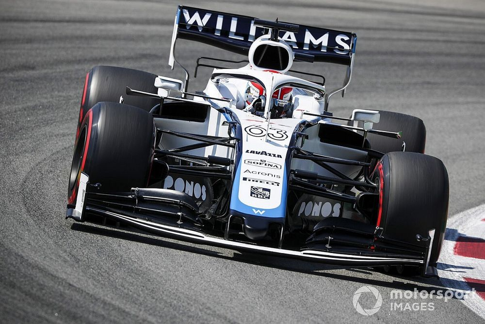 """New Williams owners conducting """"full review"""" - Russell"""