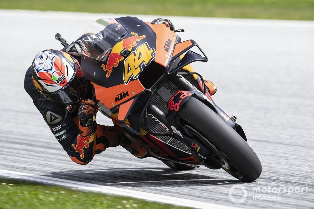 """Super pumped"" Espargaro says FP4 crash ruined pole shot"