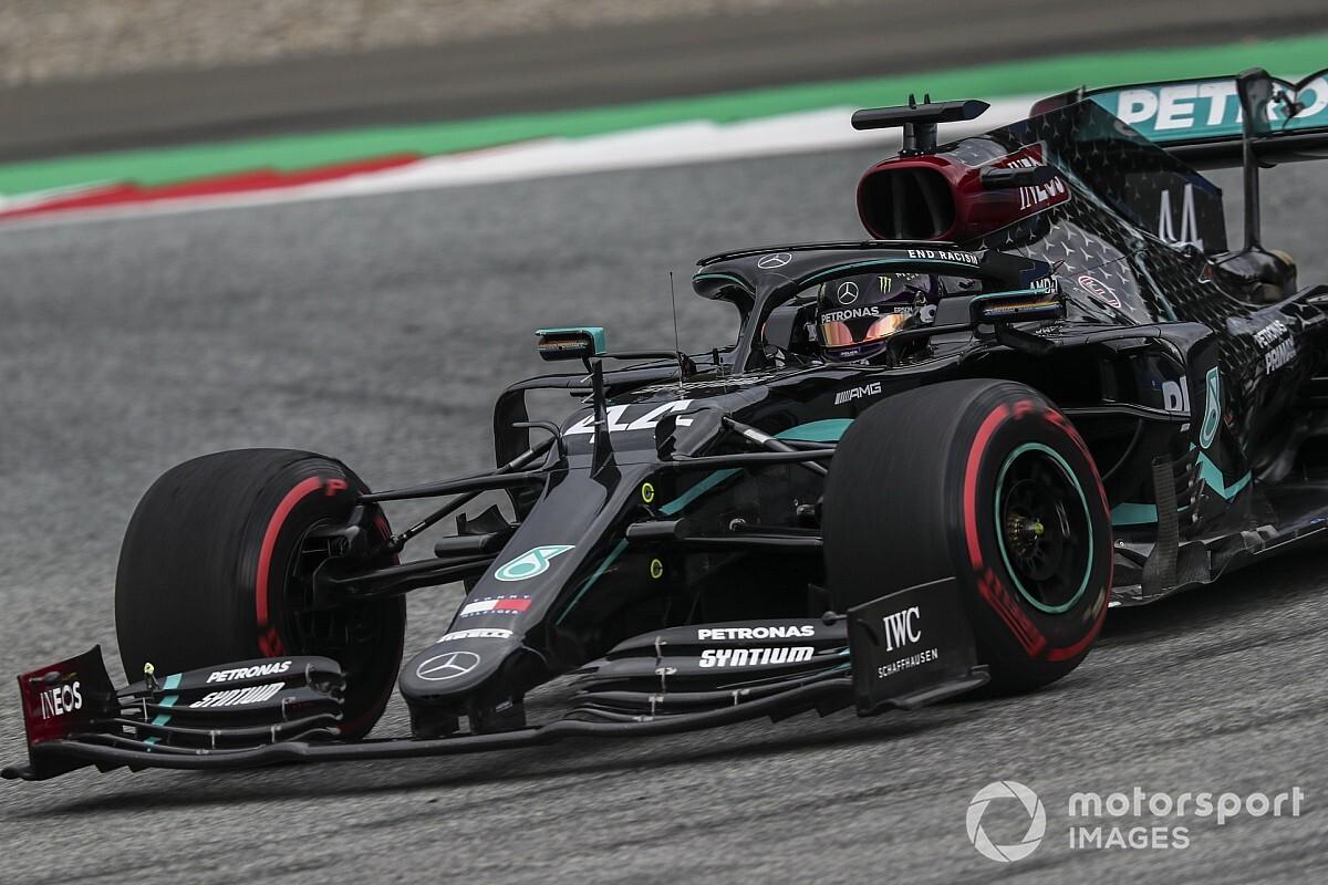 Alsnog gridstraf Hamilton na protest Red Bull, Verstappen op P2