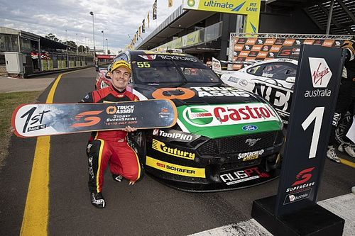"""Mischief"" helped Le Brocq become a Supercars race winner"
