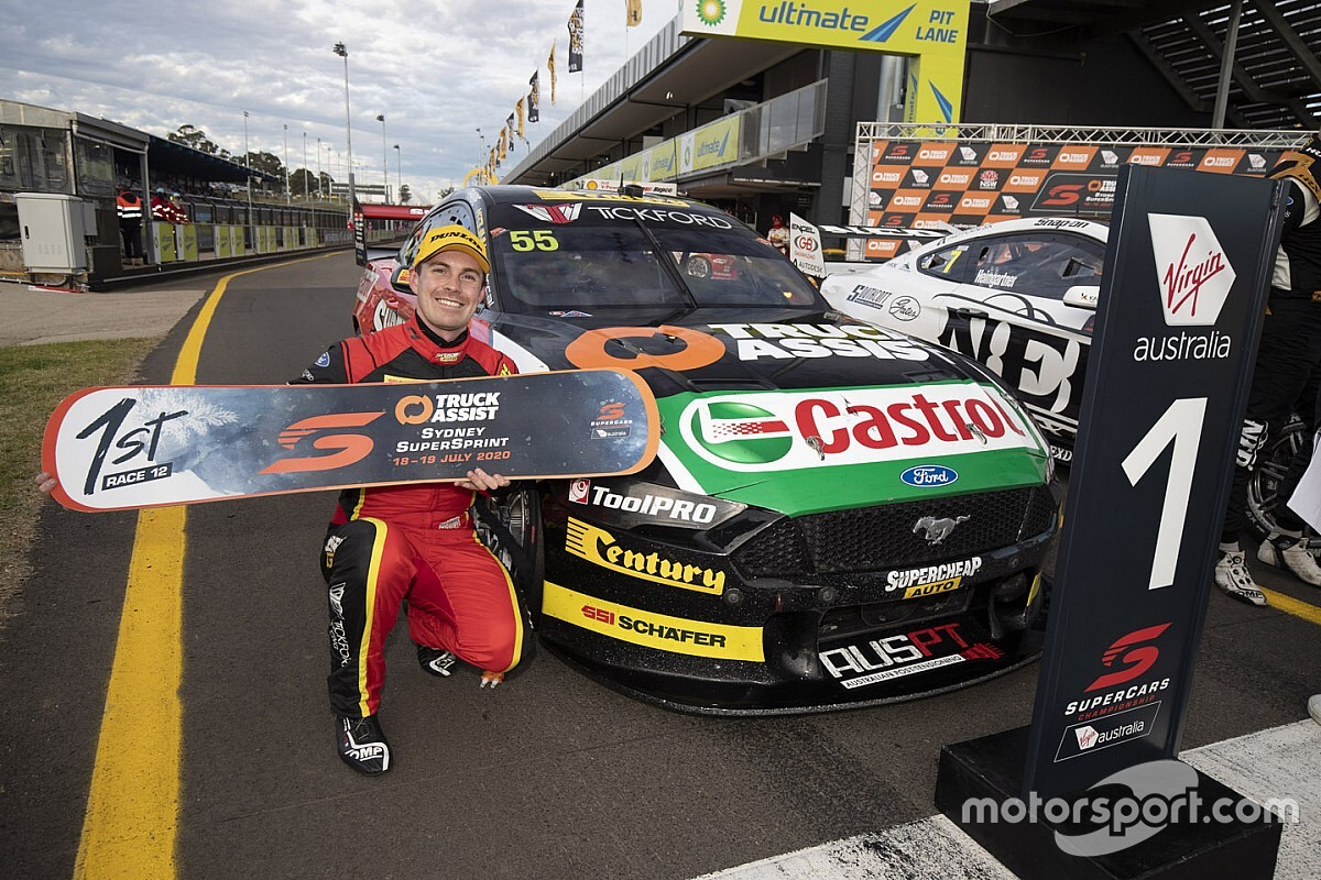 """""""Mischief"""" helped Le Brocq become a Supercars race winner"""