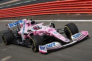 "Racing Point完成""拍摄日"",2020年F1赛车首次回归赛道"
