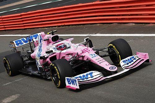 F1: la Racing Point gira a Silverstone con la RP20 2020