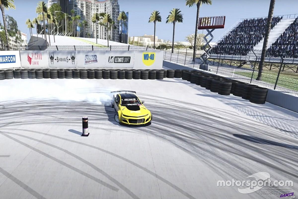 Eduardo Faoro lidera primeiro dia de classificatórias do Ultimate Drift Games em Long Beach