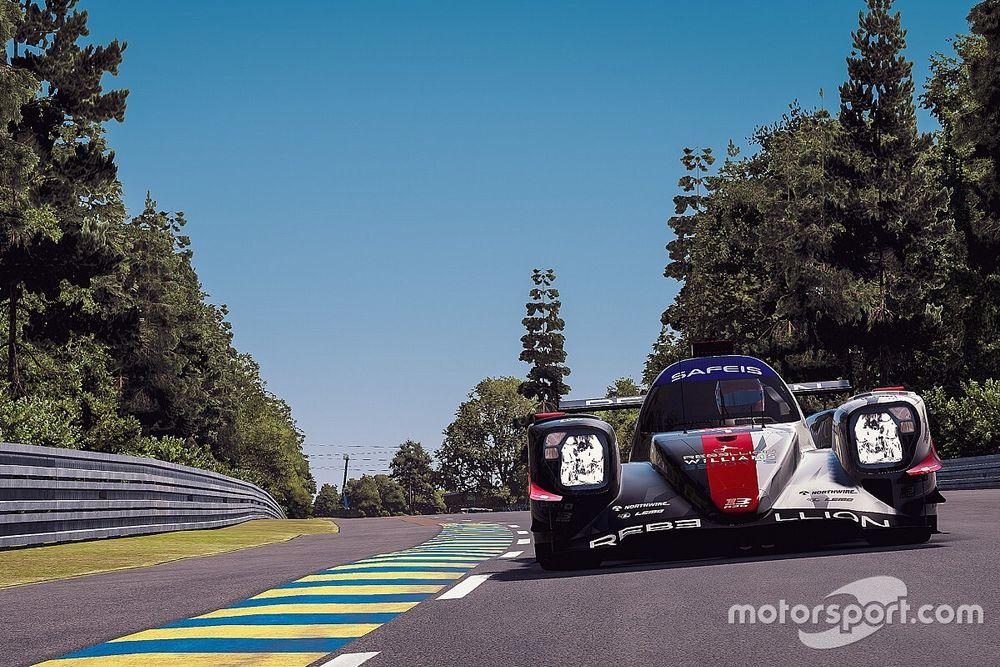 El coche que ganó en Le Mans Virtual casi se queda sin combustible