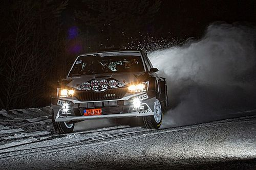 Mattias Ekstrom Ikut Ramaikan WRC Reli Arctic Finlandia
