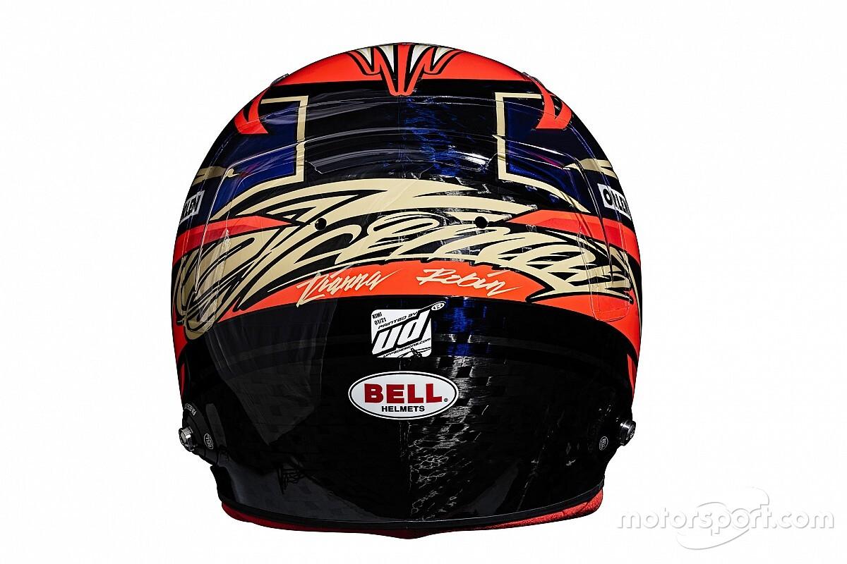 Raikkonen ve Giovinazzi'nin kask tasarımı belli oldu