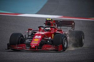Todas las fotos de Carlos Sainz con Ferrari en los test F1 2021