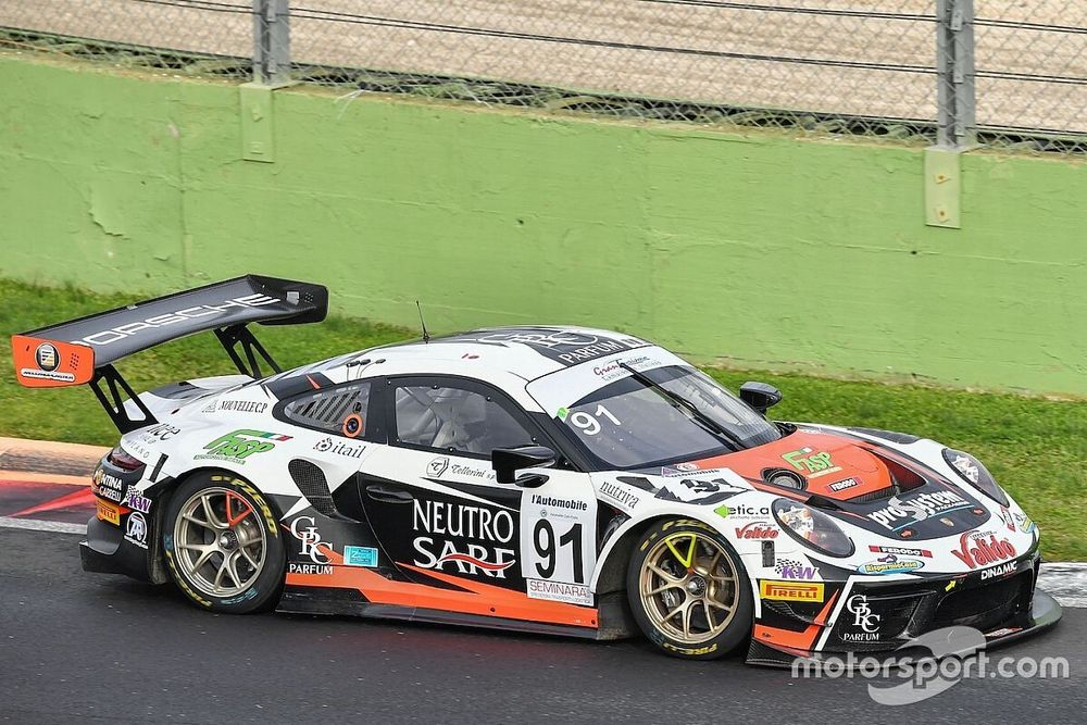GT Sprint, Vallelunga, Libere 2: risposta Porsche con Cairoli