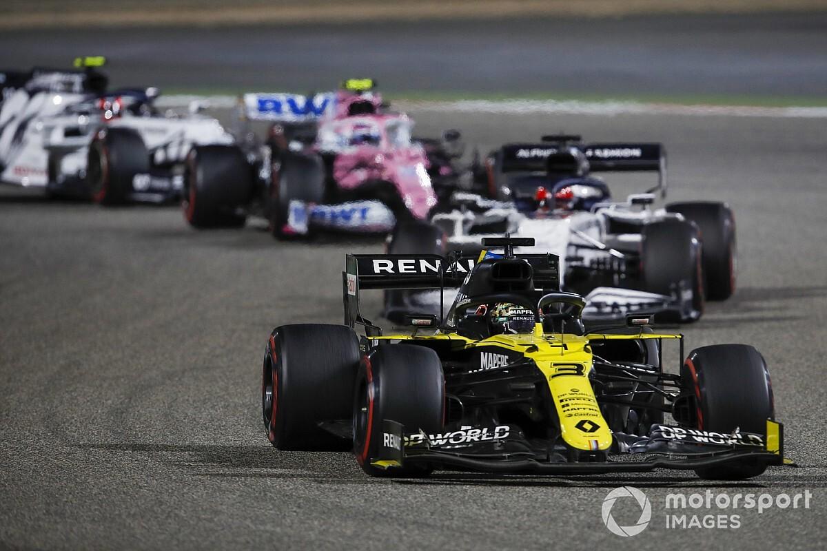 Ricciardo: Hadden Perez de GP van Sakhir niet mogen laten winnen