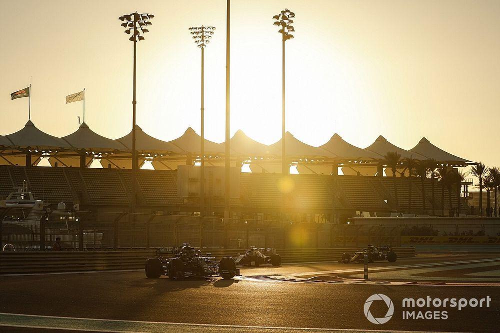 Pilotos del test de 'jóvenes' de F1 en Abu Dhabi y horario