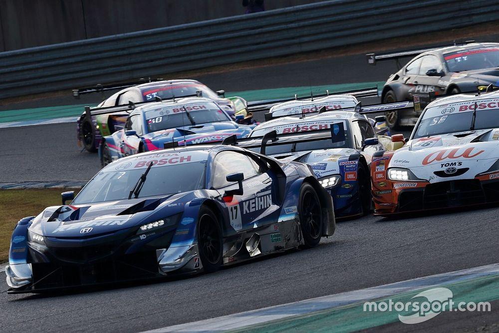 トップ6台が4ポイント以内! GT500王座争いは史上稀に見る激戦で最終戦へ