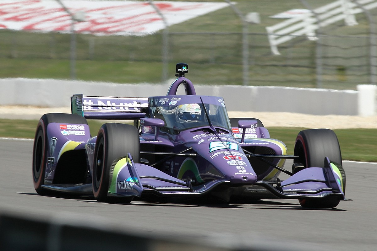 """Grosjean""""super happy"""" using P7 for IndyCar Series introduction thumbnail"""