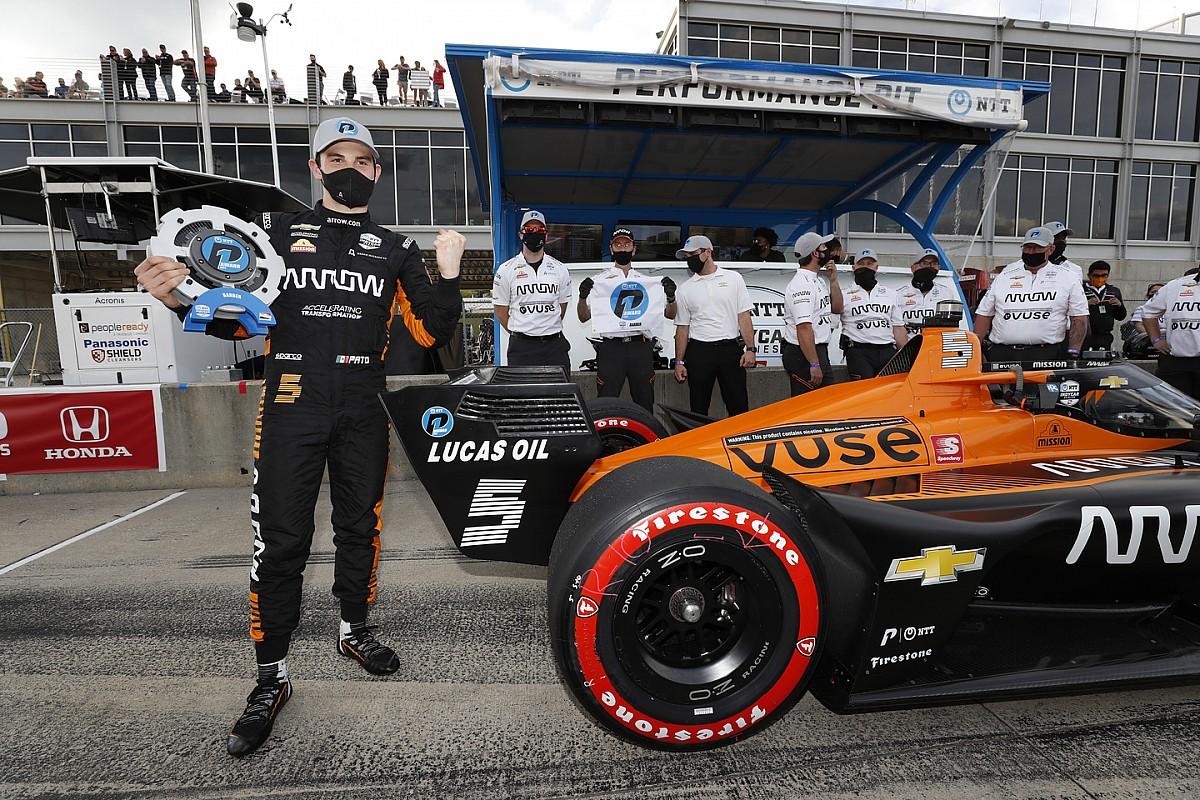 Barber IndyCar: O'Ward beats Rossi to pole thumbnail