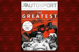 Autosport 70th Anniversary special issue on pre-sale