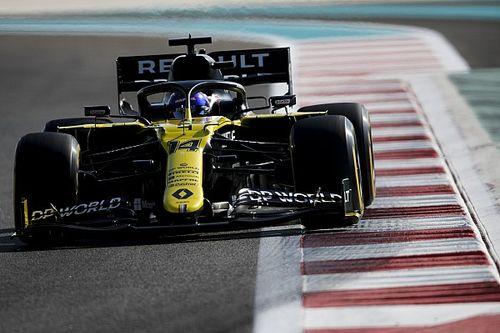Test F1 Abu Dhabi: Alonso già più veloce di Ocon e Ricciardo