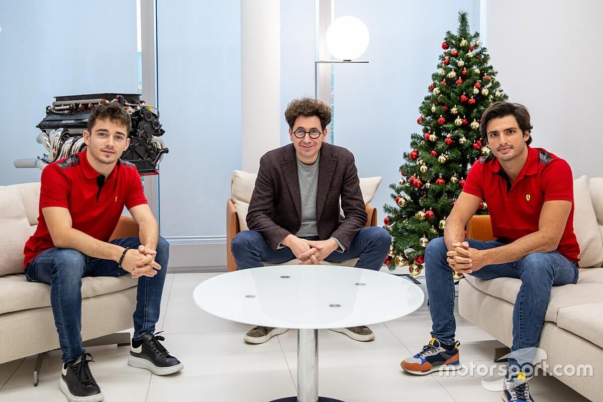 """Sainz szerint a 2021-es szezon első felében """"lesz még miben felzárkóznia"""" Leclerc mögé"""