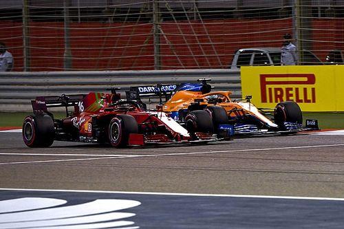 Риккардо провел гонку в Бахрейне с поврежденным днищем