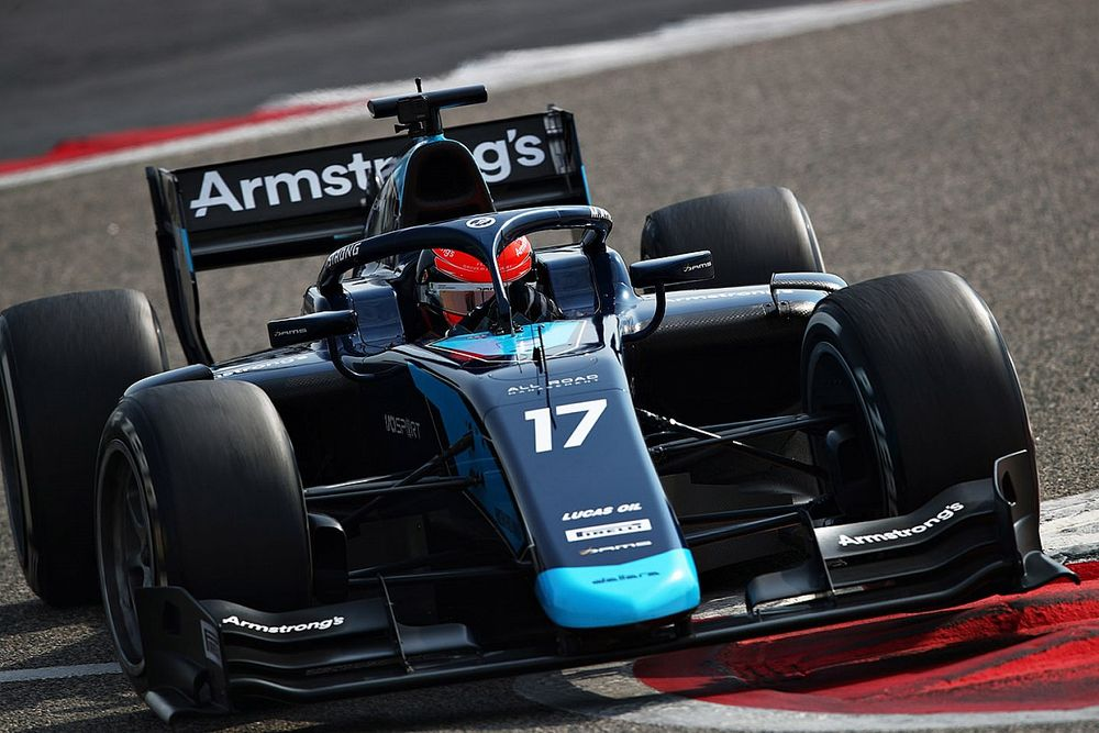 Armstrong fastest on final morning of Bahrain F2 test