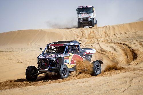 Cristina Gutiérrez, la más rápida de T3 en el Dakar tras reengancharse