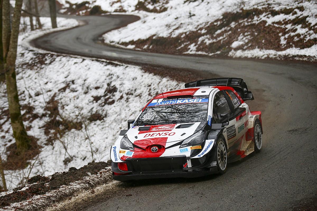 WRC, Monte-Carlo, PS5: tris di Ogier. Tanak sale terzo