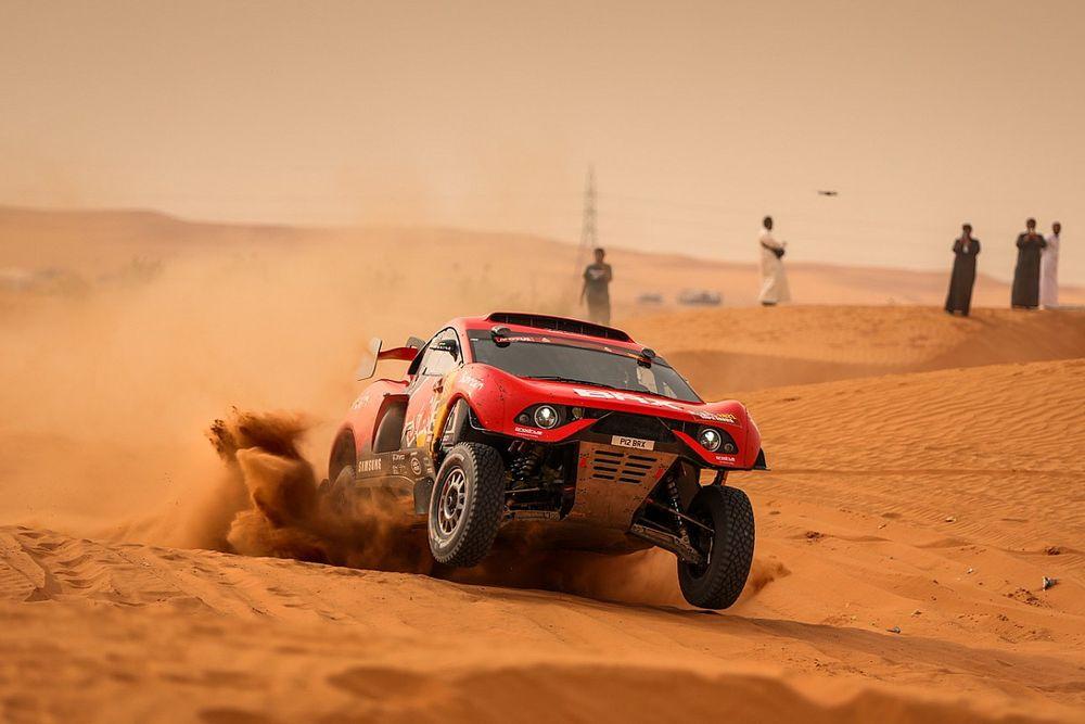 Loeb staakt definitief de strijd in Dakar 2021