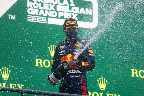 Belgian GP: Verstappen declared winner after two laps behind SC