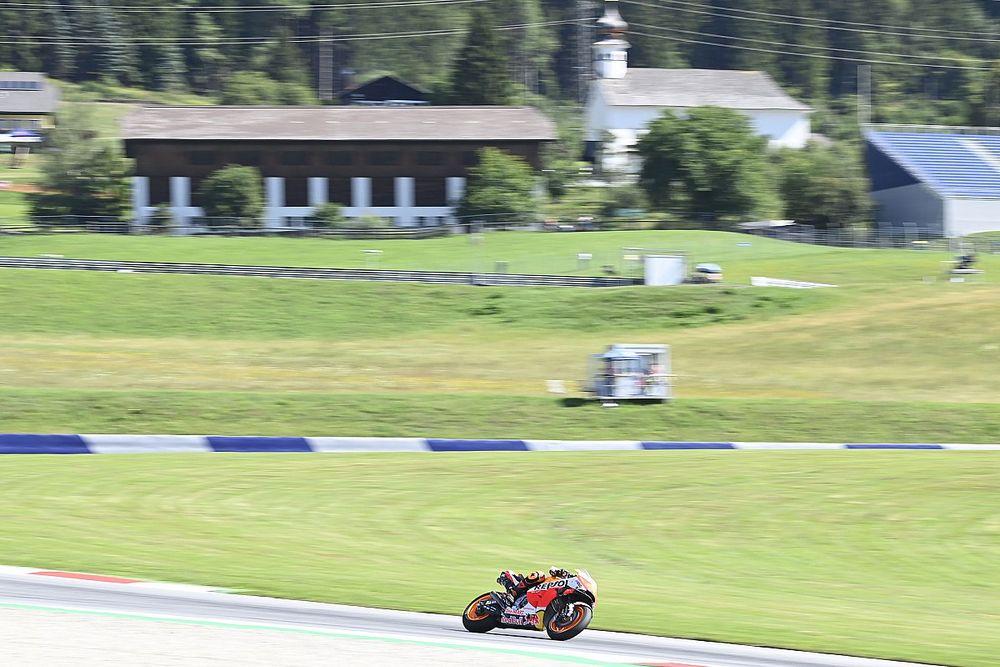 Se acabaron las vacaciones en MotoGP: las fotos del viernes del GP de Estiria