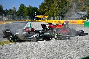 """F1: Após acidente em Monza, Brawn espera ver título decidido na pista e não """"na sala dos comissários"""""""