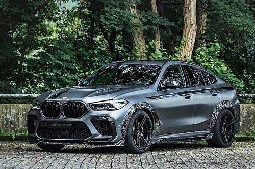 Remekül mutat a BMW X6 M-ből készült Manhart MXH6, és ennél csak a tempója jobb