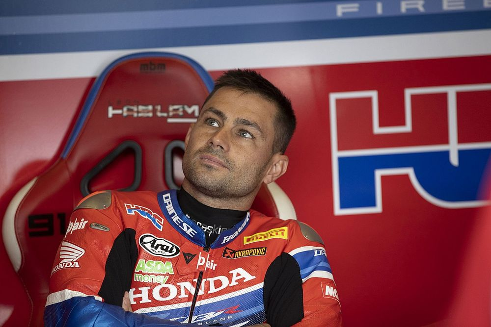Haslam keen to stay at Honda WSBK team after Bautista's exit