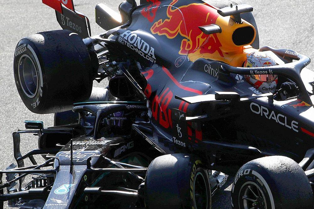 """F1: Max Wilson diz que batida de Hamilton e Verstappen foi """"de corrida"""" e vê Red Bull à frente da Mercedes"""
