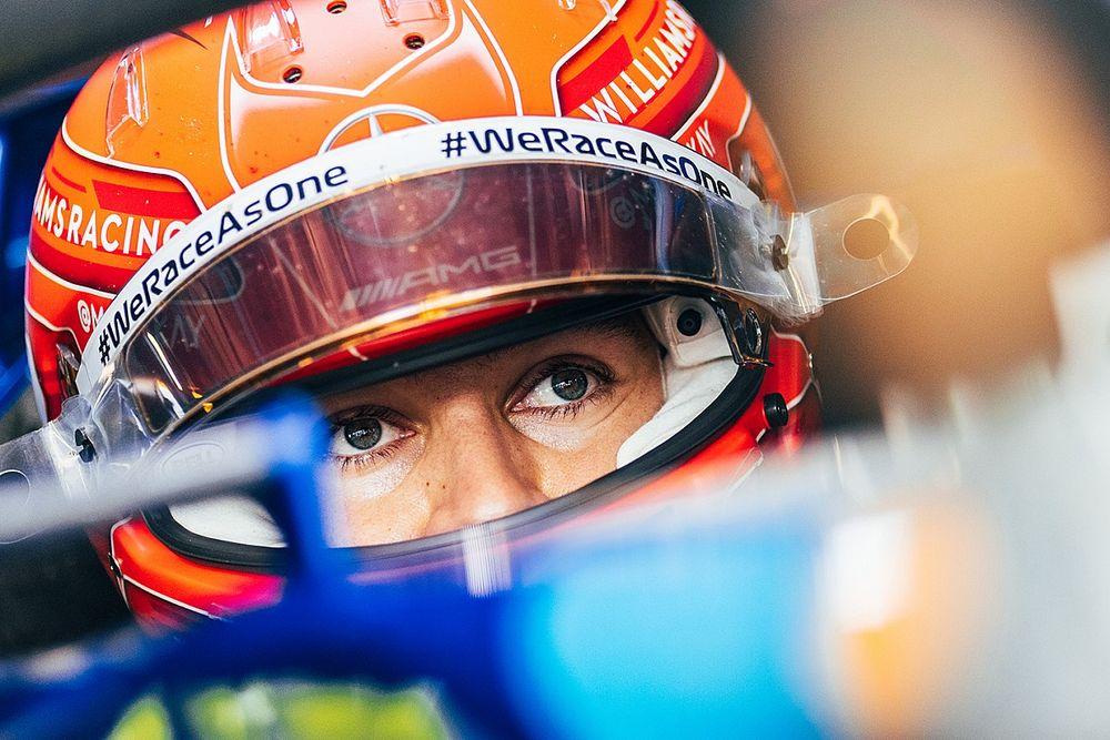Williams no ve 'ideal' que la cámara en el casco revele detalles
