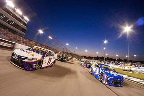 """Denny Hamlin """"just needed a couple more laps"""" at Richmond"""