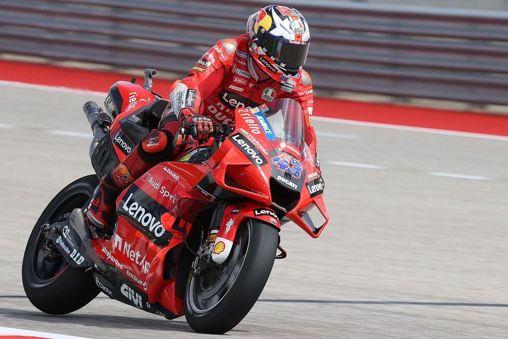 Americas MotoGP: Miller dominates FP3, Mir to Q1